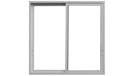 janela vidro alumínio 2 folhas