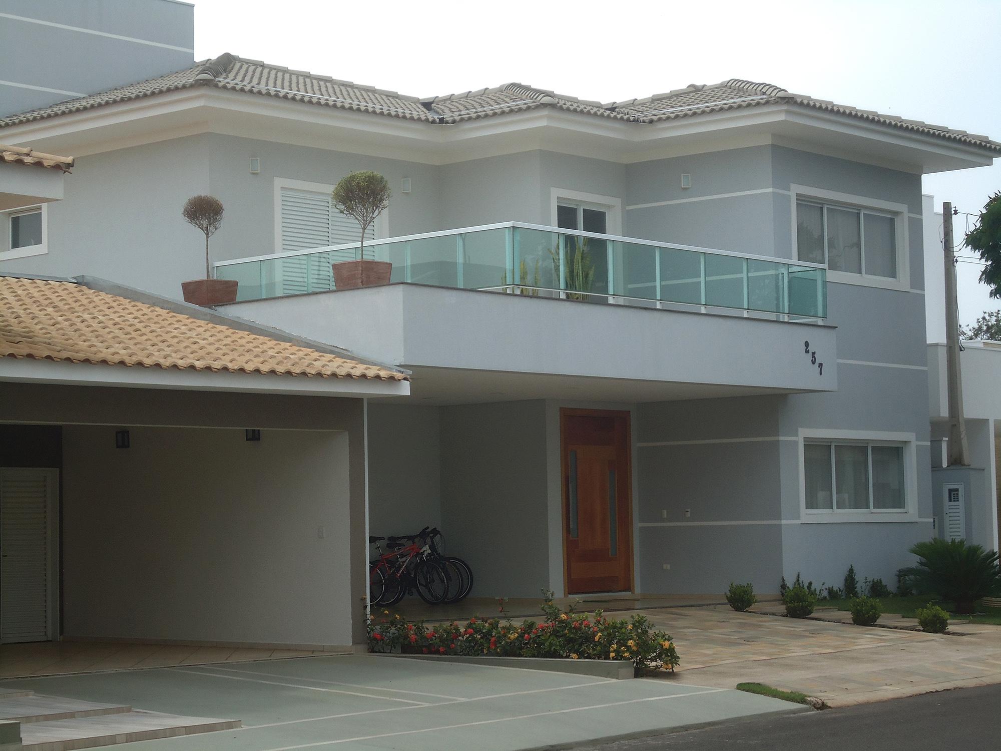 casa alumínio