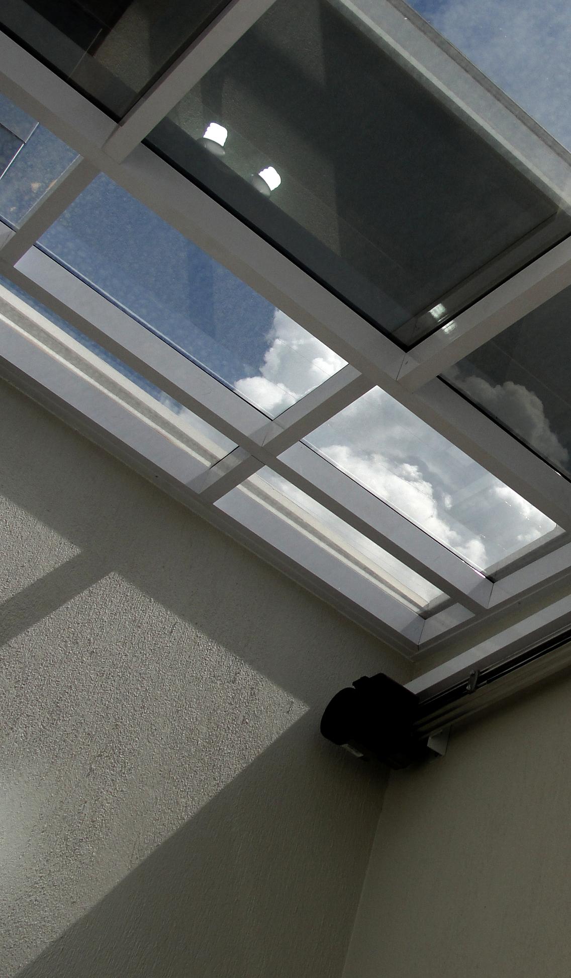 normas cobertura de vidro