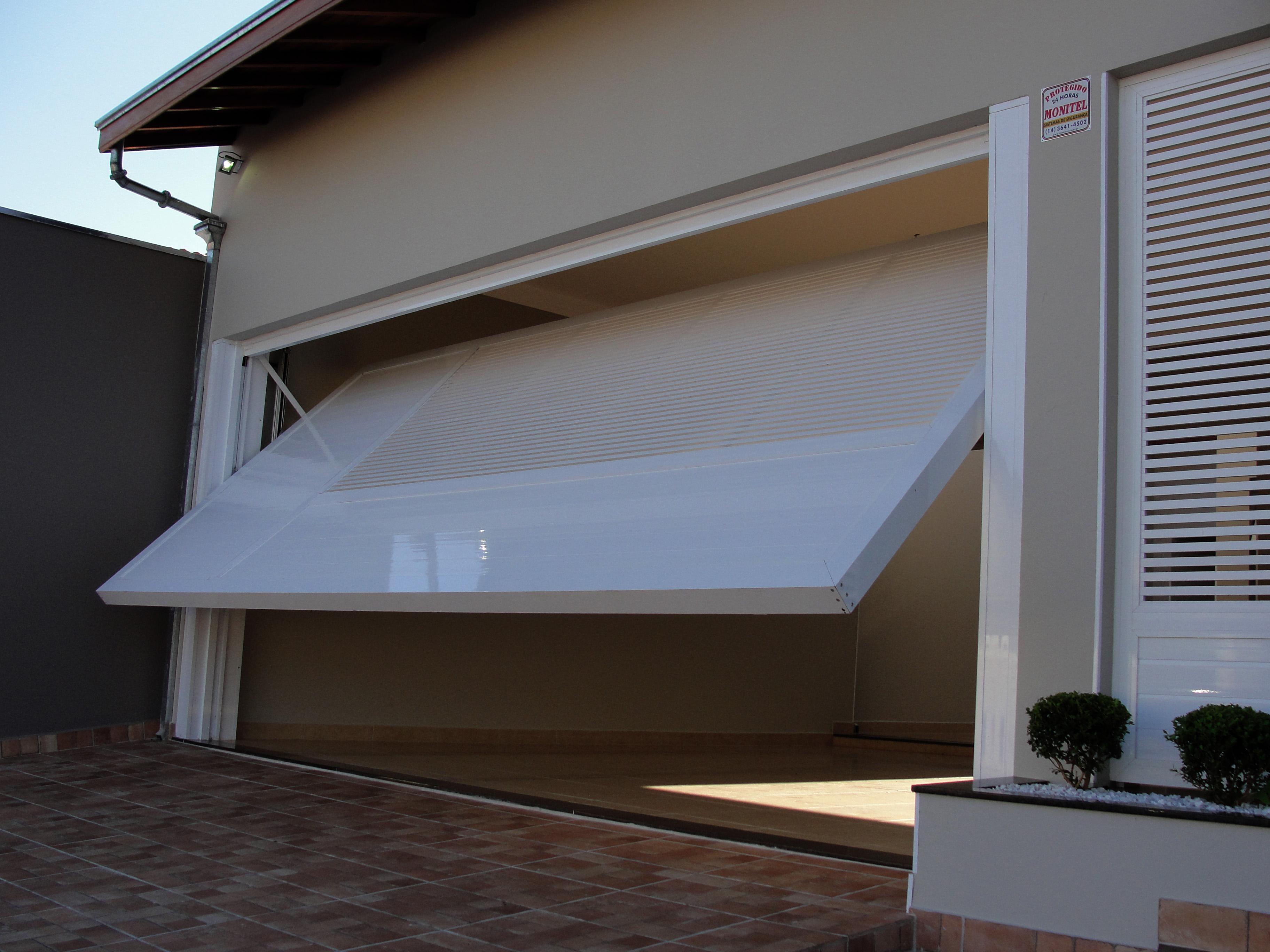 portão basculante alumínio boxglass