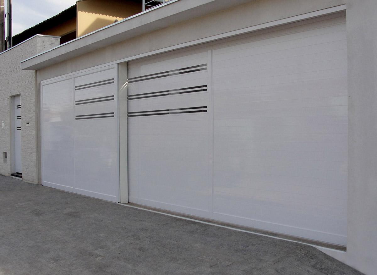 portão de alumínio para garagem vários modelos