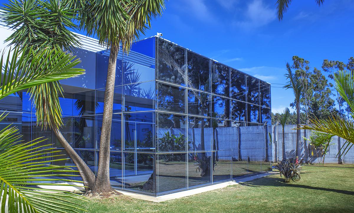 vidro laminado fachada para comércio