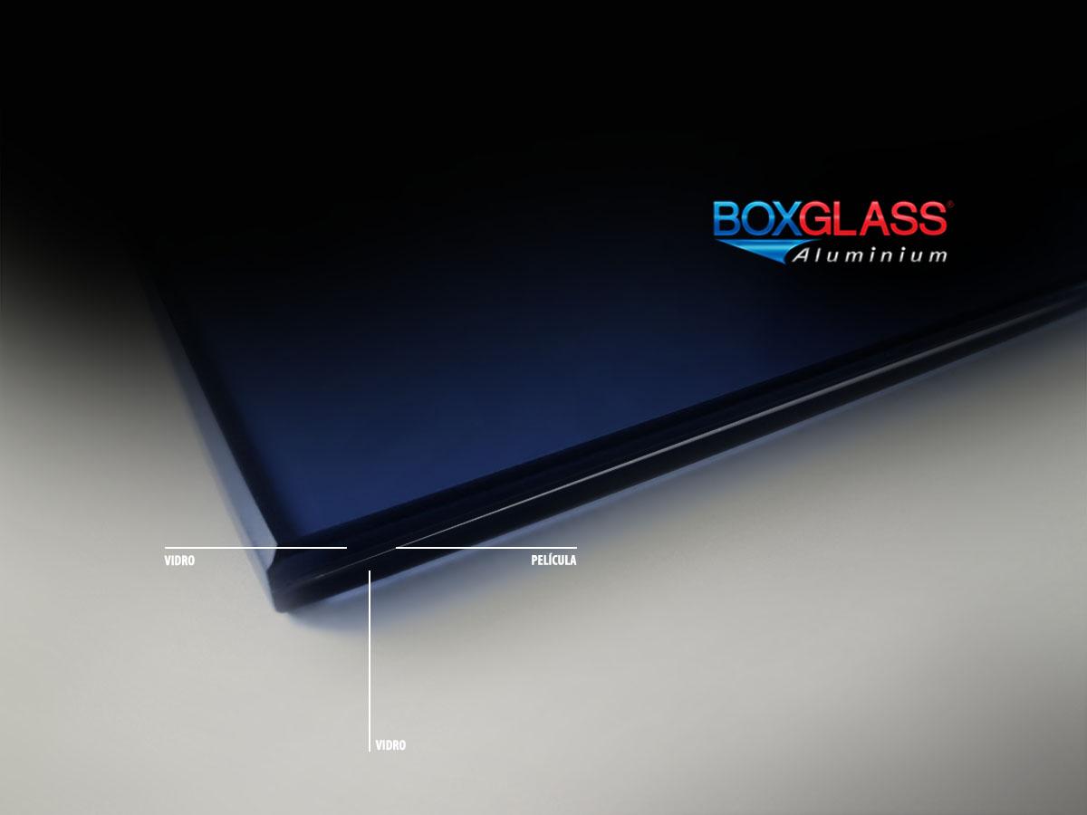 vidro laminado película como é produzido