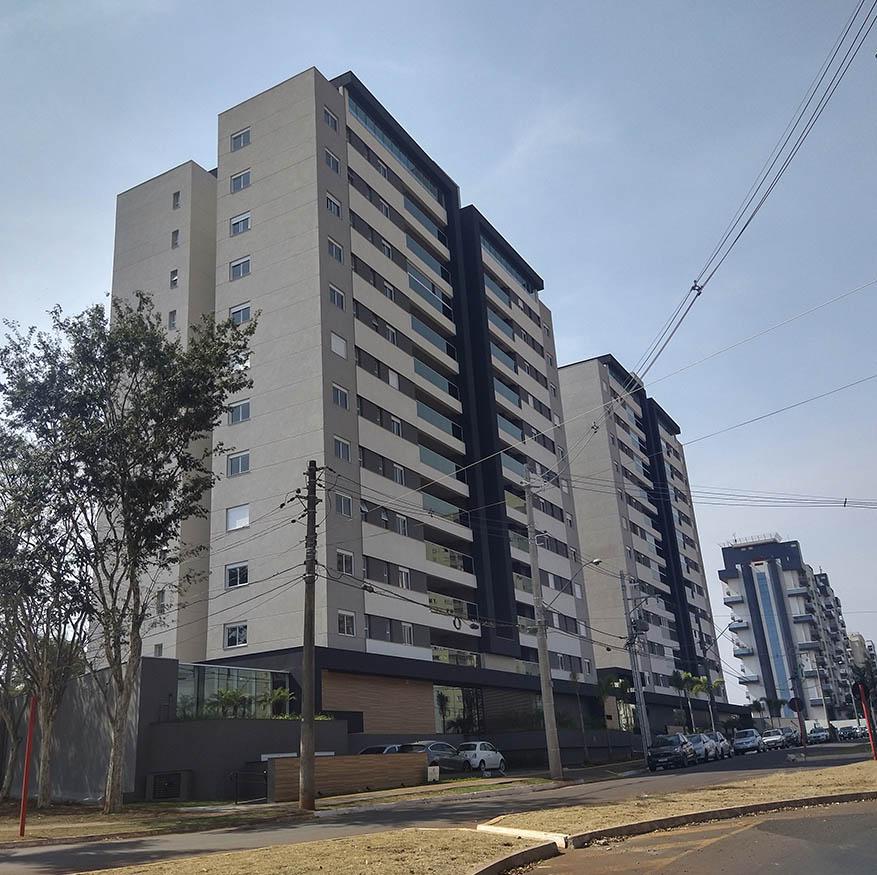 esquadrias de alumínio para construtora e edifício São Carlos SP
